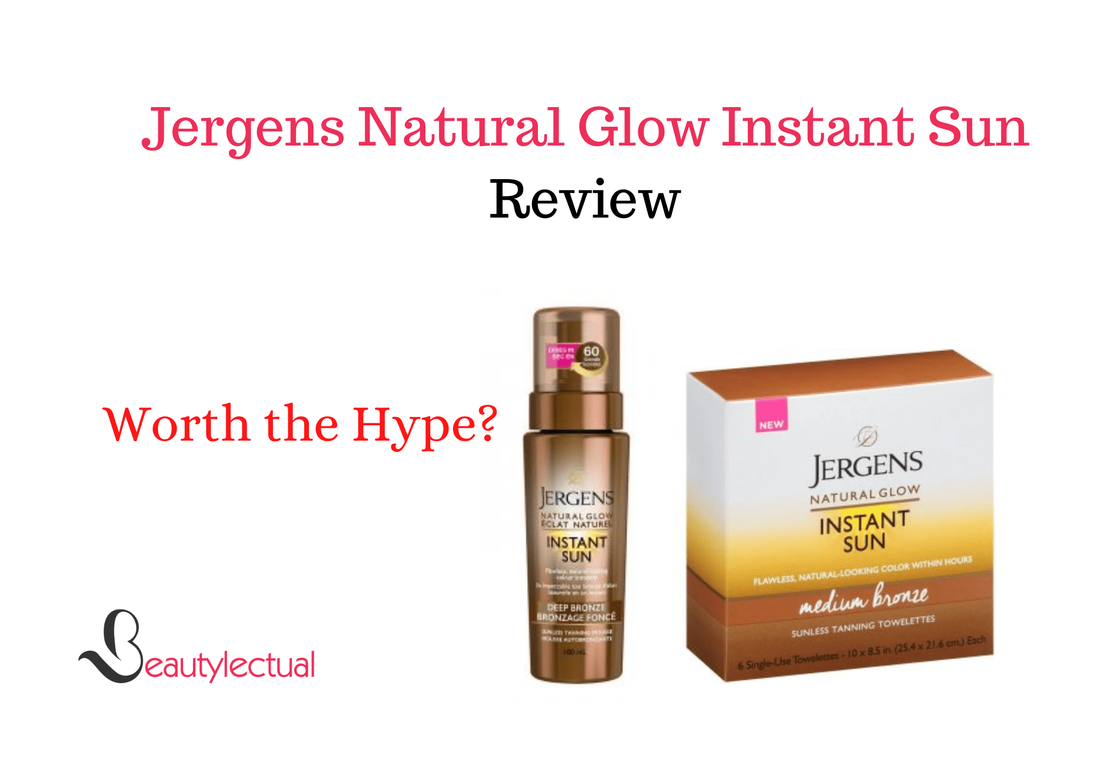 Jergens Natural Glow Instant Sun Reviews