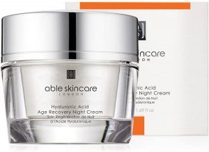 recovery night cream review
