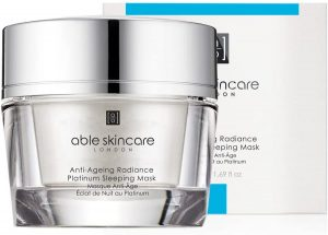 able skincare sleeping mask review