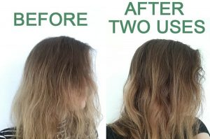 Aura Hair Care Before After