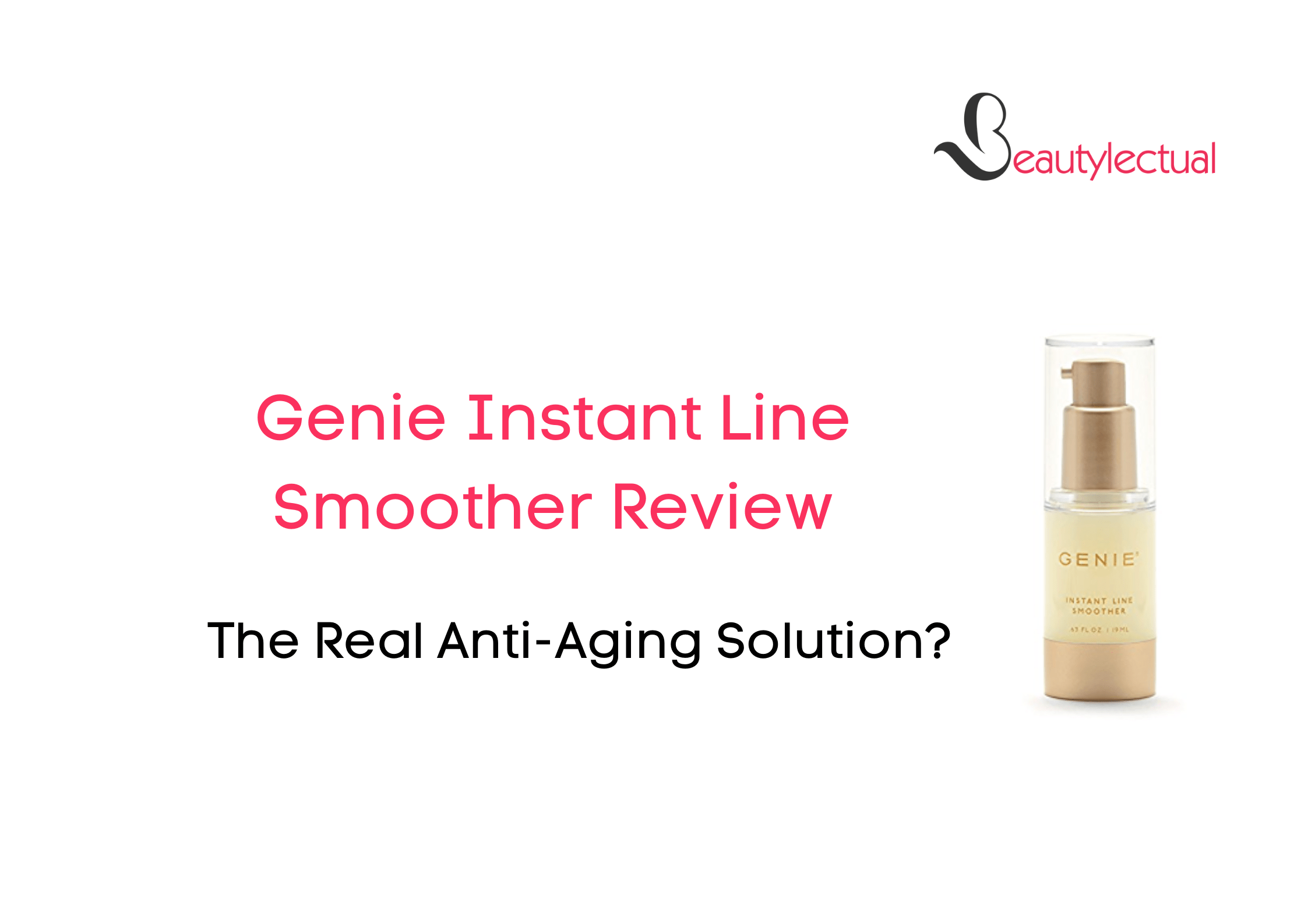 Genie Instant Line Smoother Review