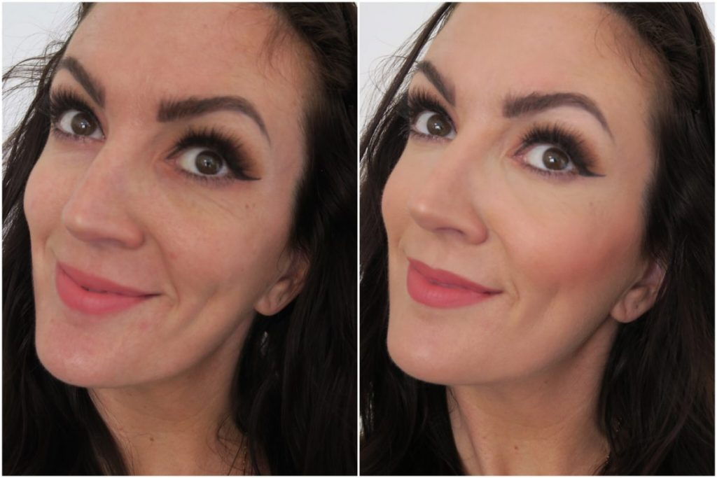 Hunmui Face Primer before and after